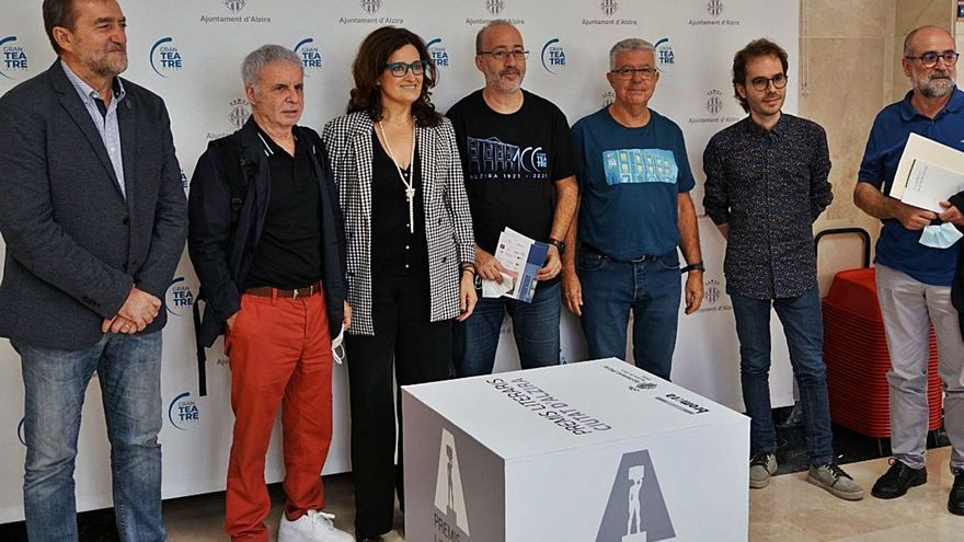 Els Premis Ciutat d'Alzira tornen  a lliurar-se de manera presencial