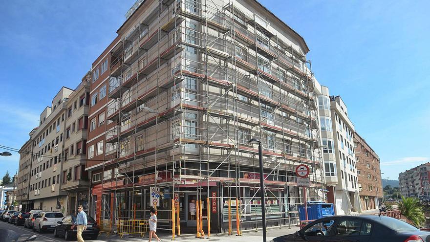 Casi la mitad de los edificios de Vilagarcía deben someterse a una inspección obligatoria