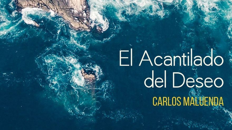 Portada del tercer libro de Carlos Maluenda