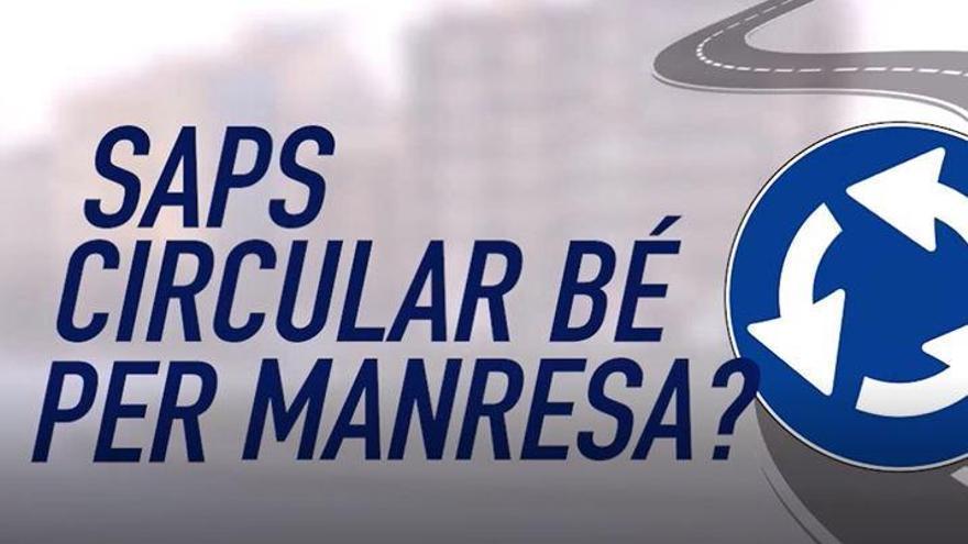 Circular per Manresa: fas bé la rotonda dels Mossos?