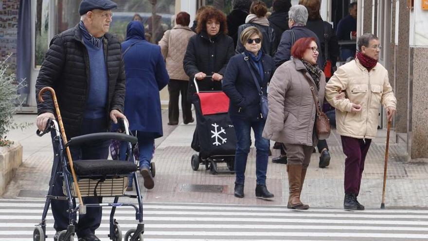 Los nonagenarios aumentarán un 71 % en la comarca en quince años