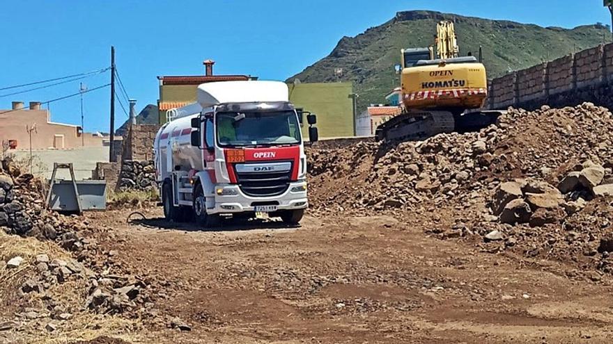 Urbanismo suspende temporalmente la obra de La Castellana por falta de licencia