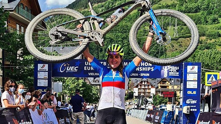 Ariadna Ródenas se convierte en la campeona de Europa de ultramaratón