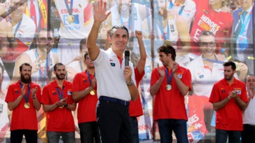 Los campeones de Europa cierran la fiesta en Madrid