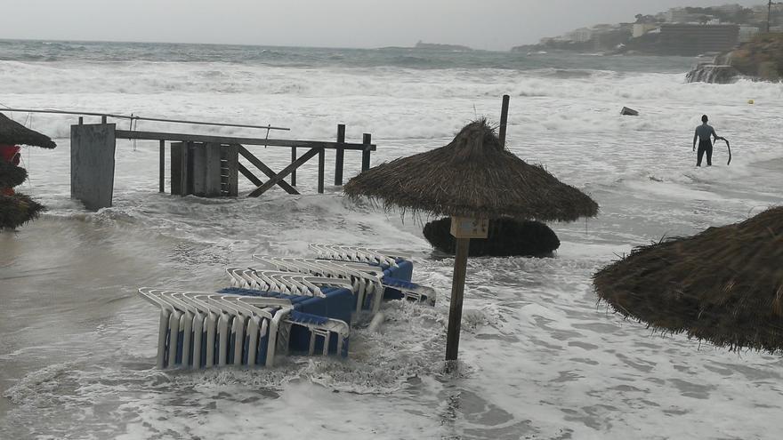 Borrasca Álex en Mallorca: El vendaval provoca una quincena de incidentes