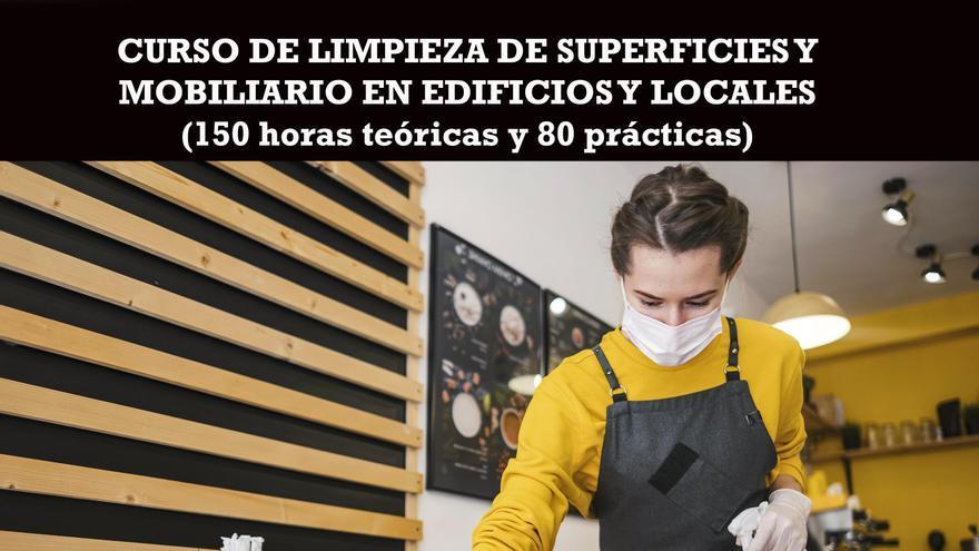 Cruz Roja Zamora organiza un curso gratuito de limpieza