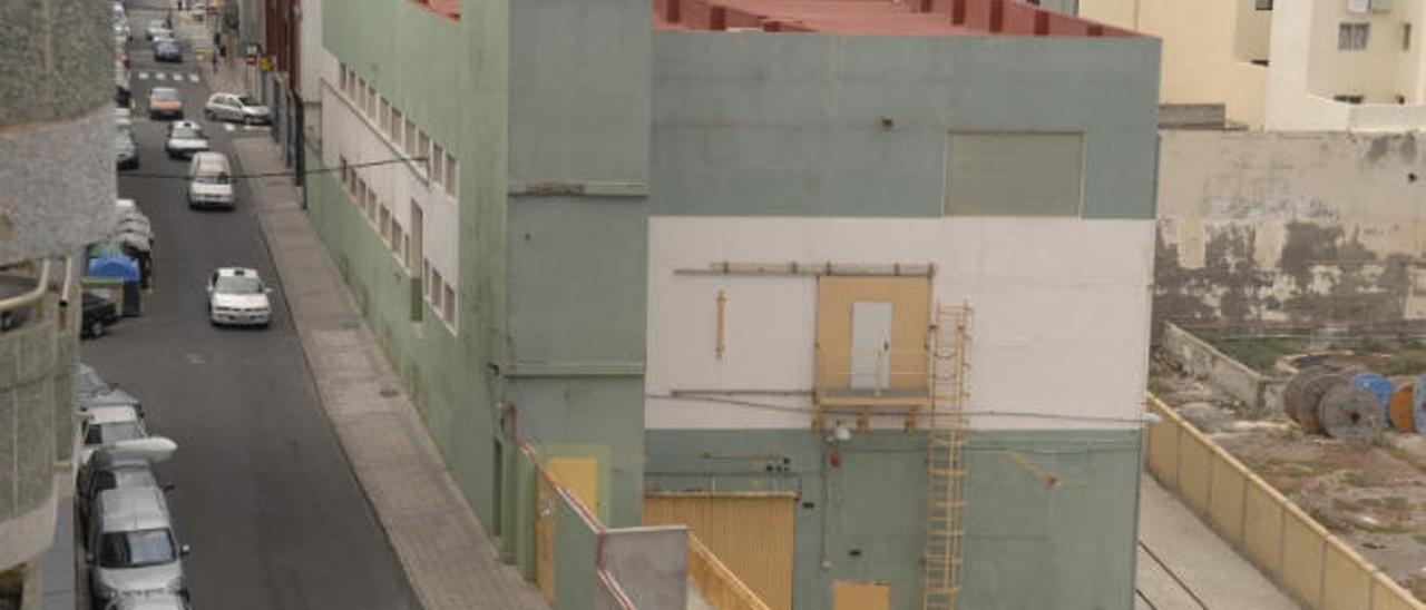 Subestación eléctrica de La Cícer.