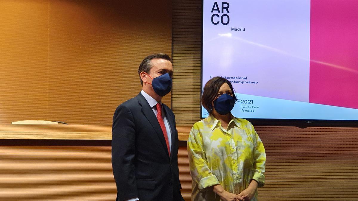 Presentación de la feria ARCOmadrid 2021.