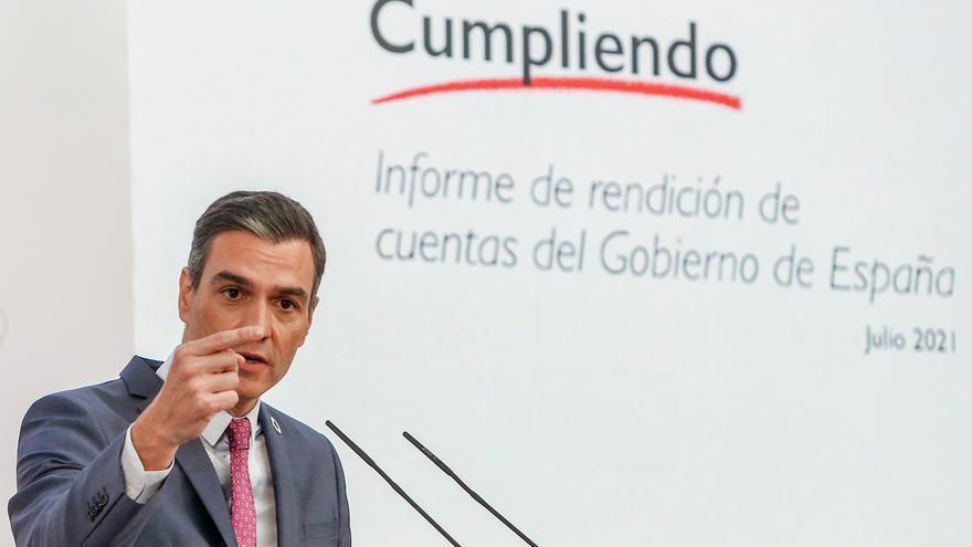 """Sánchez presenta un balance optimista y pide al PP que deje """"la parálisis y el rencor"""""""
