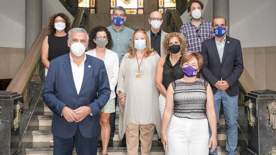 Los rectores canarios piden al Gobierno canario un programa para rejuvenecer sus plantillas