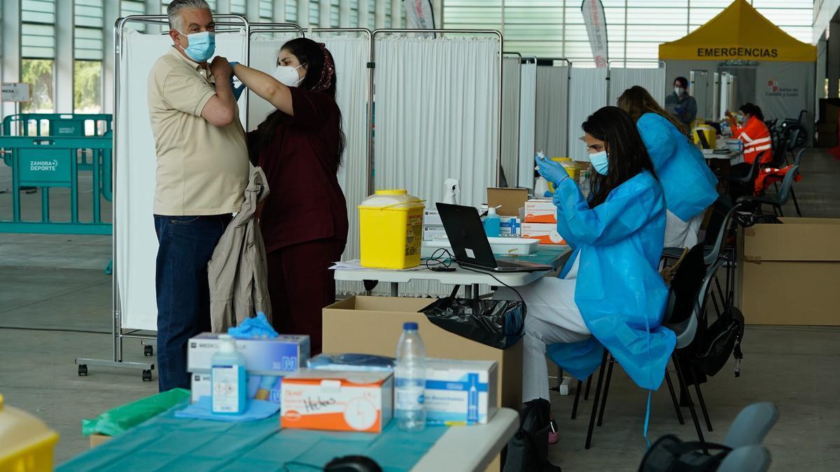 Vacunación contra el coronavirus en Zamora