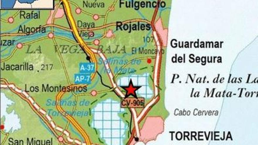 Un terremoto de magnitud 2 se deja sentir en Torrevieja y Los Montesinos