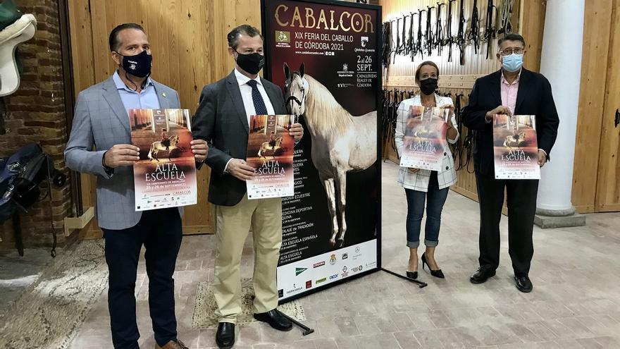 Cabalcor acoge este fin de semana el Campeonato de Andalucía de Alta Escuela