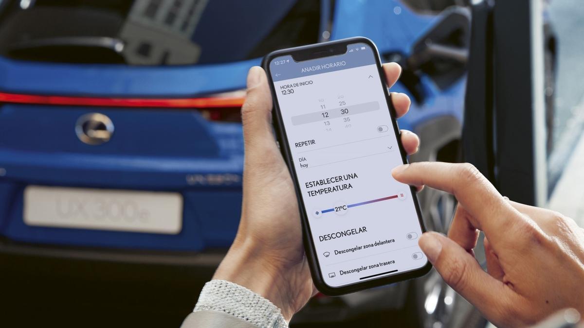Lexus UX 300e: conectividad avanzada a medida