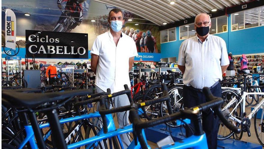 Ciclos Cabello, nueva tienda oficial de La Vuelta