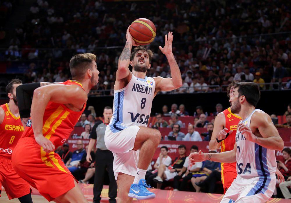Final del Mundial de baloncesto: Argentina-España