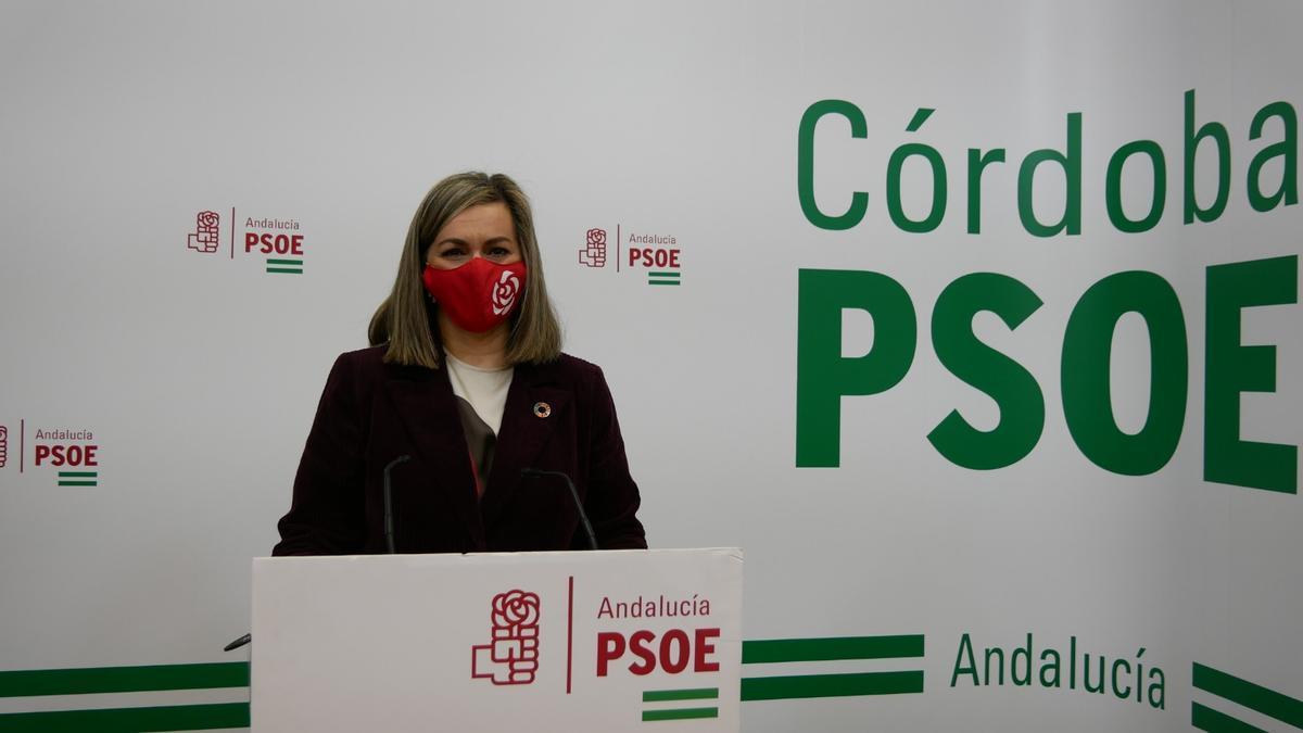 La senadora socialista cordobesa María Jesús Serrano