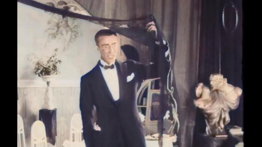 Cultura restaura 'El ladrón de los guantes blancos' un siglo después de su estreno