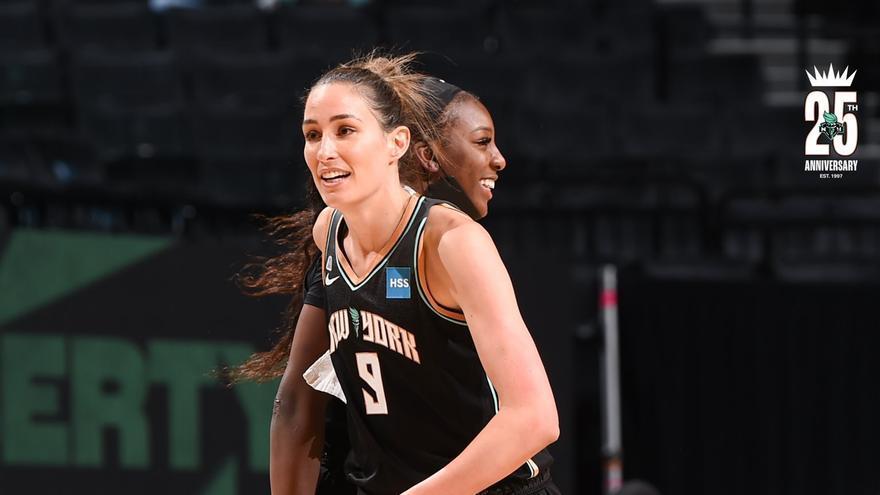 Rebecca Allen se mete en los playoffs de la WNBA