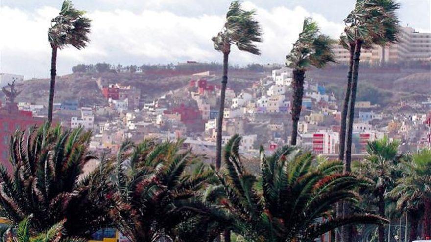 Gran Canaria, en alerta por vientos