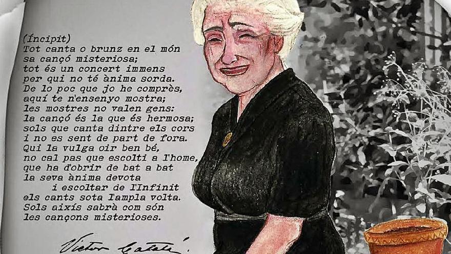 Caterina Albert, molt més que 'Solitud'