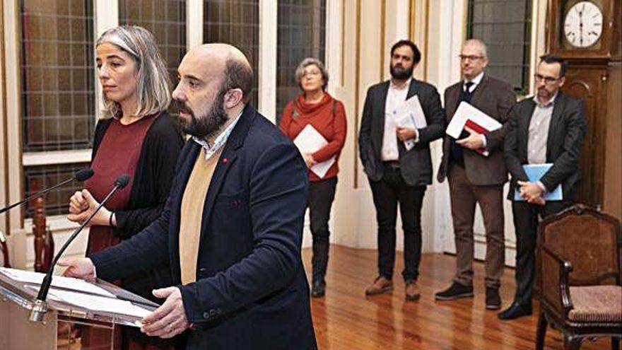 PSOE y Marea acuerdan retomar la creación del área metropolitana