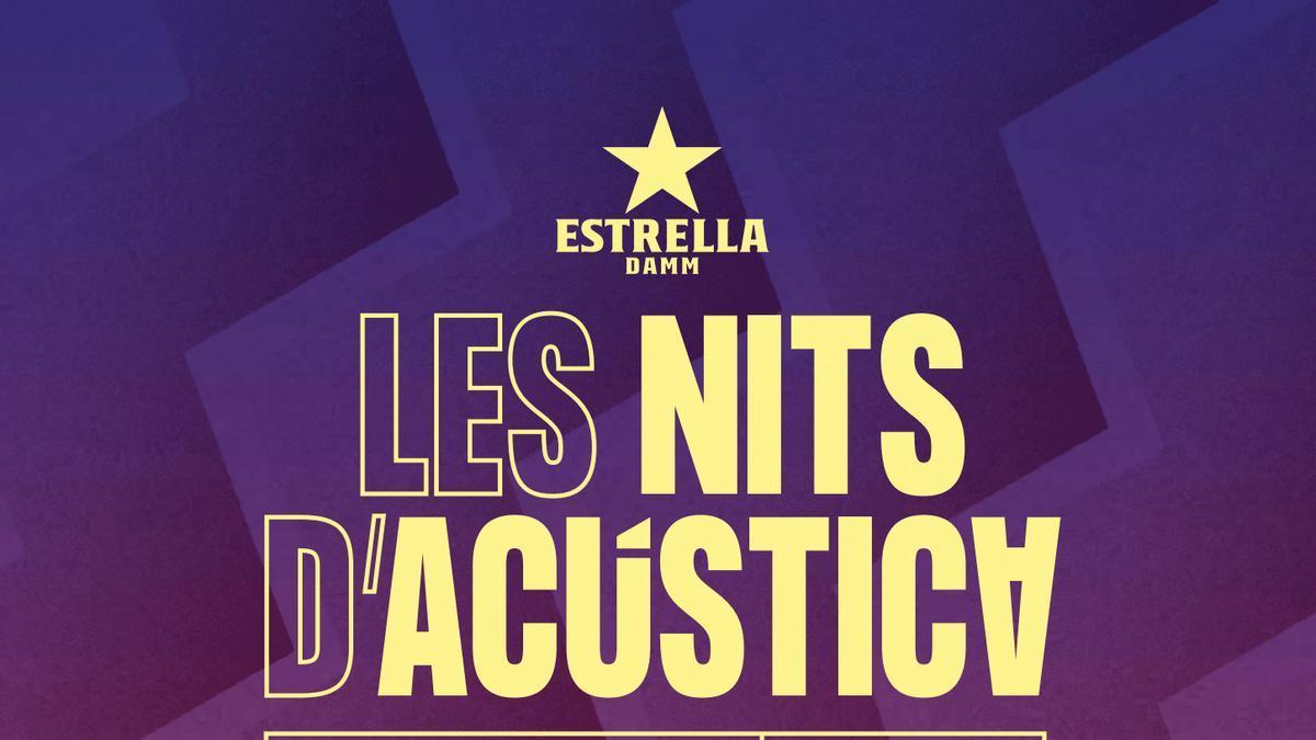 L'eslògan de l'edició 2021 de Les Nits d'Acústica