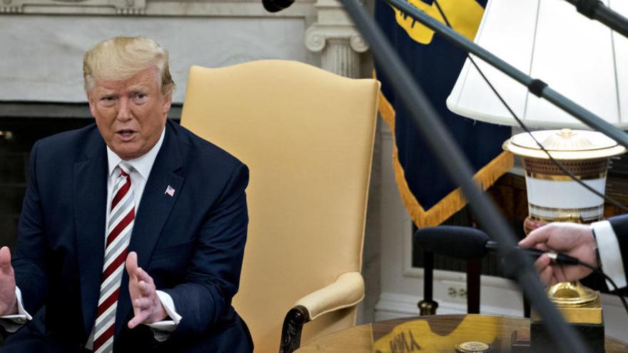 """Trump admite contactos con el chavismo """"a muy alto nivel"""""""