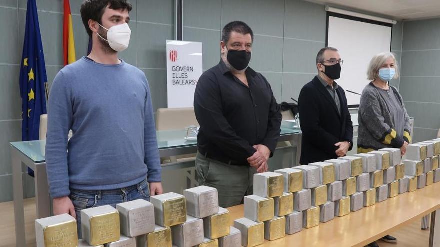 Weitere Stolpersteine erinnern auf Mallorca an Diktatur-Opfer