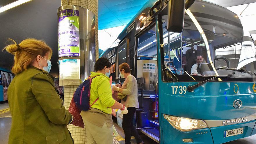 El transporte público mantiene a cero el marcador de los contagios por Covid-19