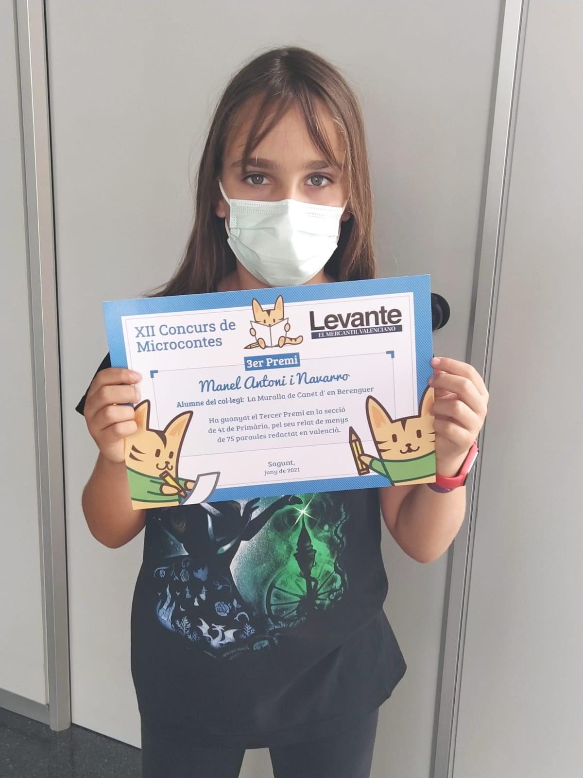 Entrega de premios del concurso de microcuentos de Levante-EMV Camp de Morvedre