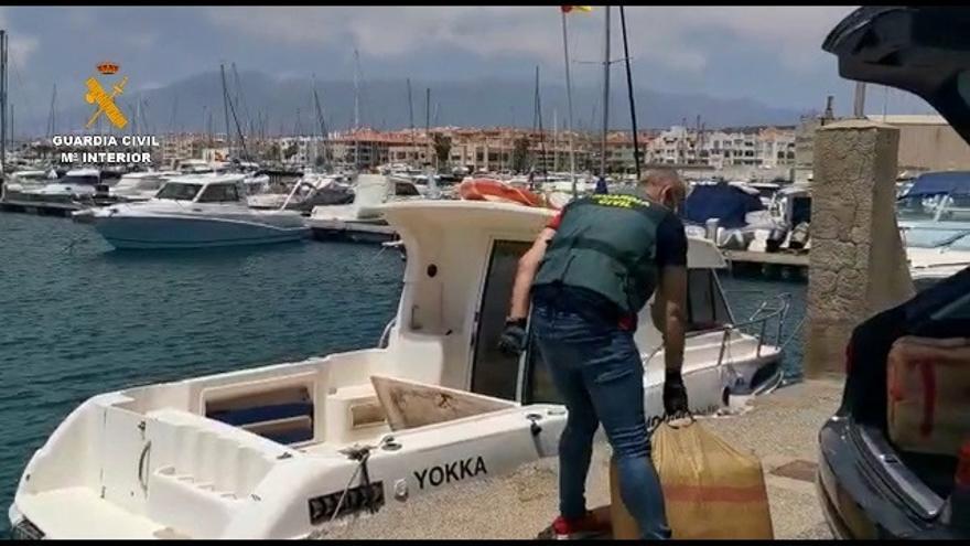 """Golpe al narcotráfico en Almería: cae el histórico clan de los """"Pintaos"""" e incautan seis toneladas de hachís y embarcaciones rápidas"""