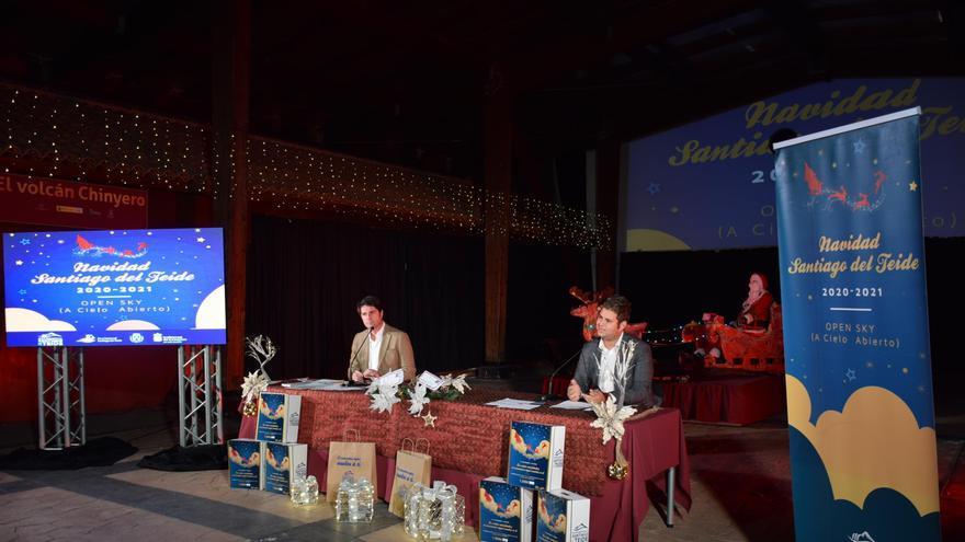 El alcalde, Emilio Navadro, presentó el programa de Navidad de Santiago del Teide 2020