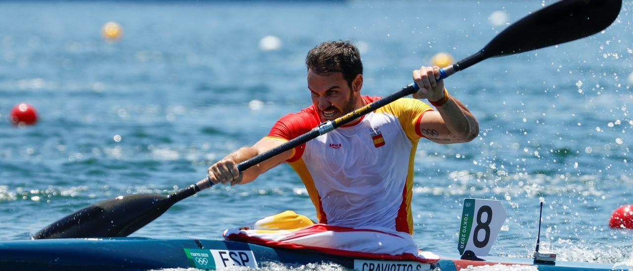 Craviotto estará en las semifinales de K4 500 con el resto del cuarteto español.