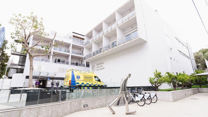 Herida leve una mujer al ser atropellada por una moto en Ibiza