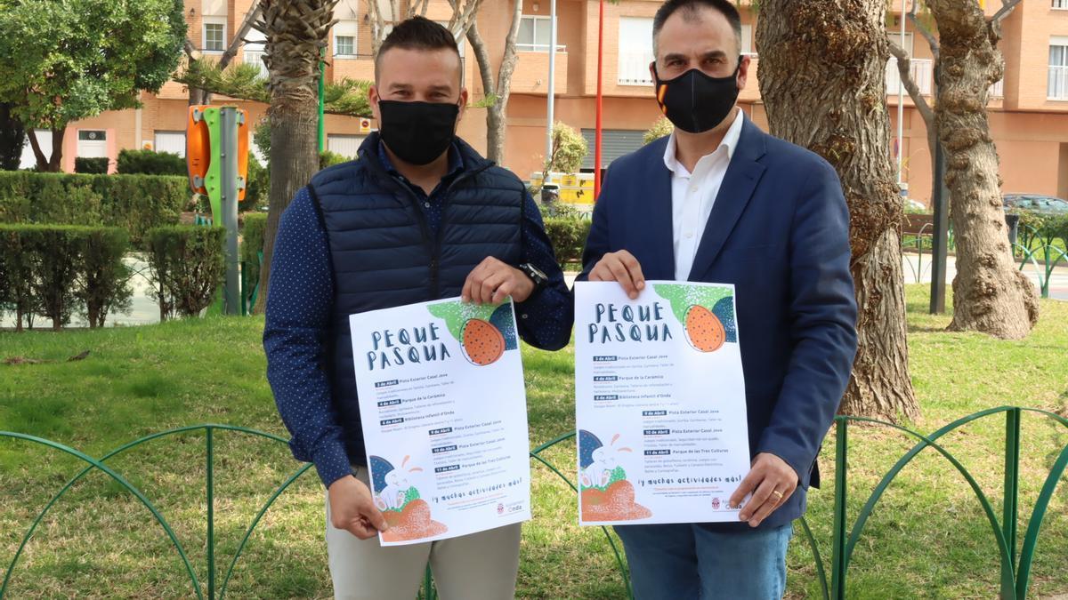 El Ayuntamiento de Onda presentó este viernes el programa 'Peque Pascua'.