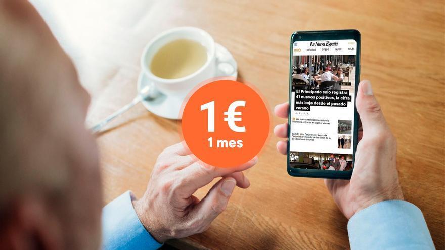 ÚLTIMA MEDIA HORA: consigue por un euro acceso a todo el contenido web de LA NUEVA ESPAÑA durante un mes