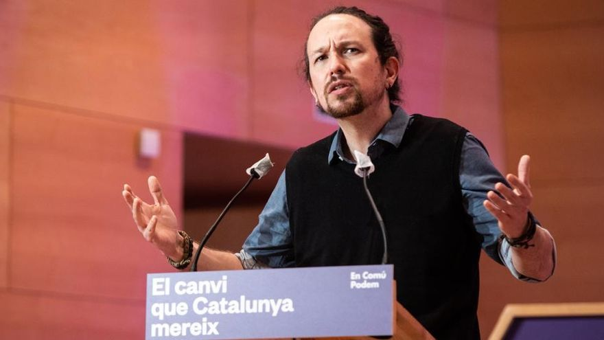"""Iglesias insiste: """"No puede haber normalidad democrática con el Rey huido"""""""