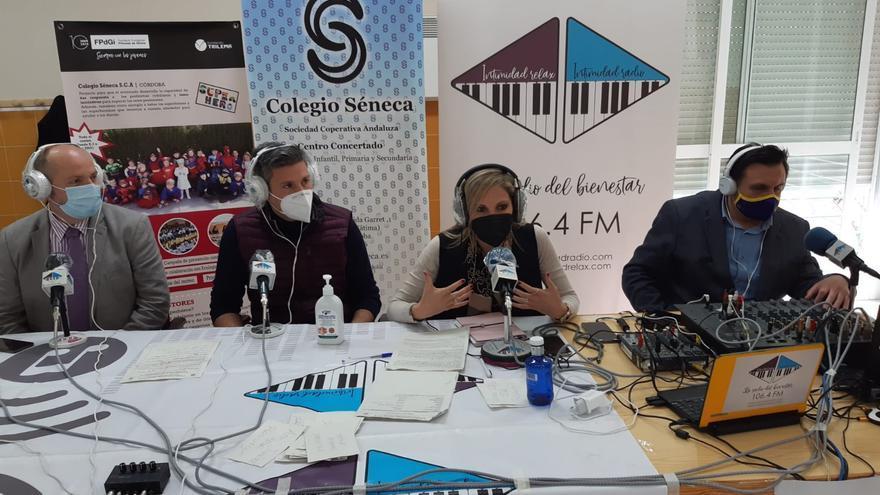 Radiomaratón solidario en el colegio Séneca