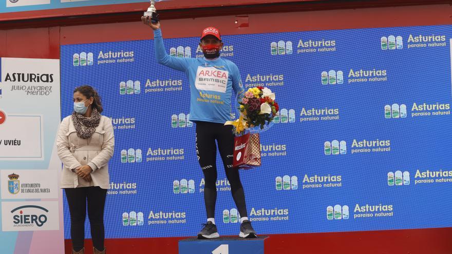 """Nairo Quintana, ganador de la primera etapa de la Vuelta Asturias: """"Sabía que venía en un buen momento"""""""