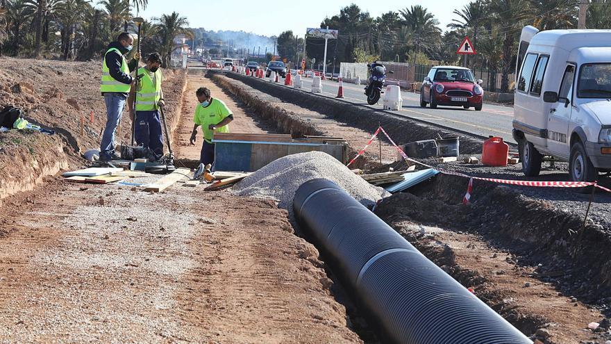 El tramo hasta Valverde de la carretera Elche-Santa Pola estará desdoblado en verano