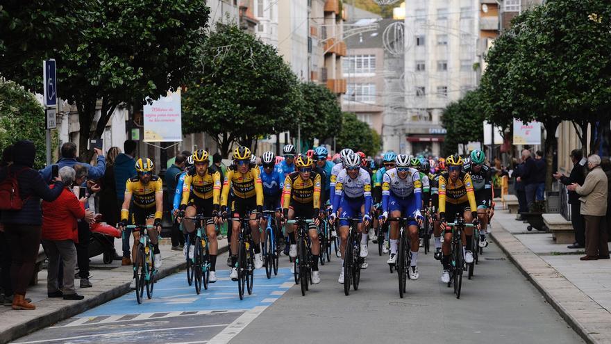 Así fue el paso de la Vuelta a España por Lalín
