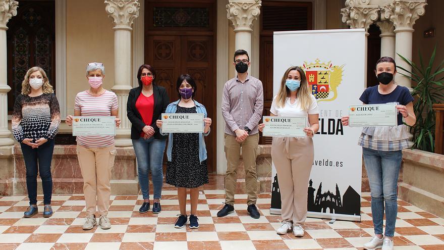 El Ayuntamiento de Novelda reparte 111.674€ a cuatro asociaciones sociosanitarias