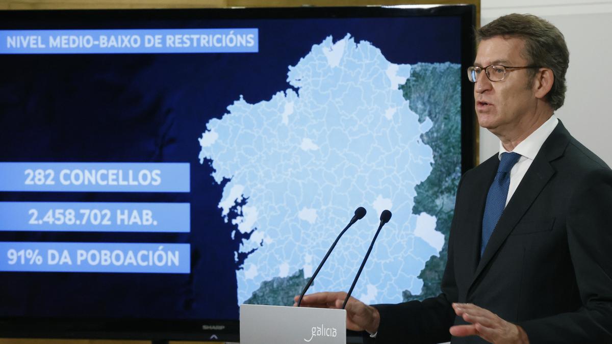 Galicia atrasa el toque de queda y el horario de los restaurantes a las 23 horas