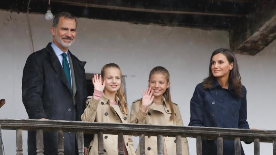 """Leonor defiende a los pueblos como """"tesoro de España"""""""
