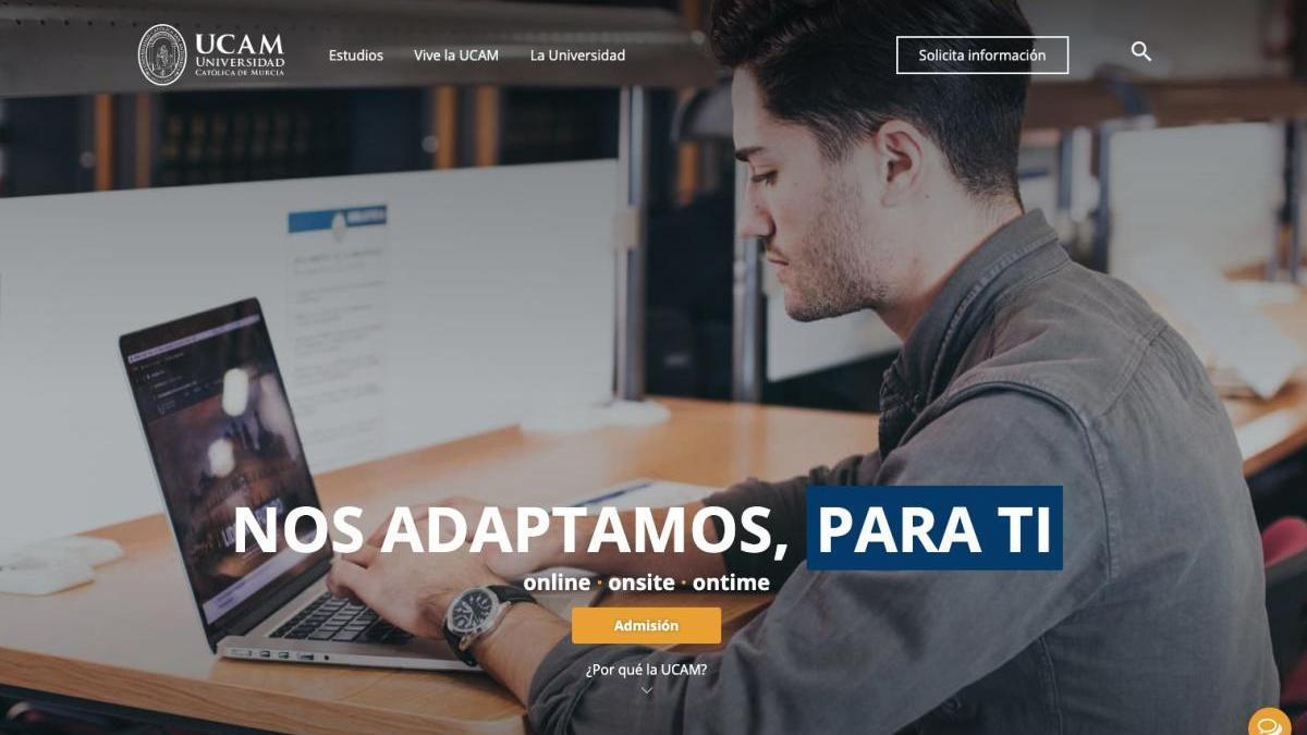 La nueva web de la Católica pone al alumno en el centro de la Universidad