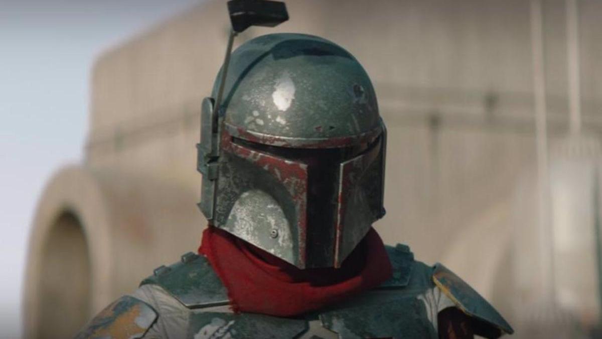 Boba Fett's helmet in & # 039; The Mandalorian & # 039 ;.