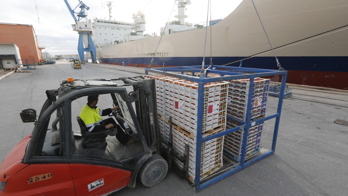 Los cítricos son el segundo producto más exportado, tras el azulejo.