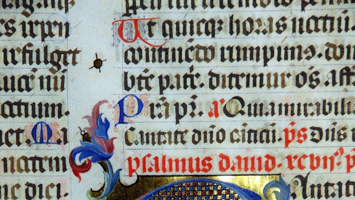 Un dels manuscrits que seran objecte d'investigació.