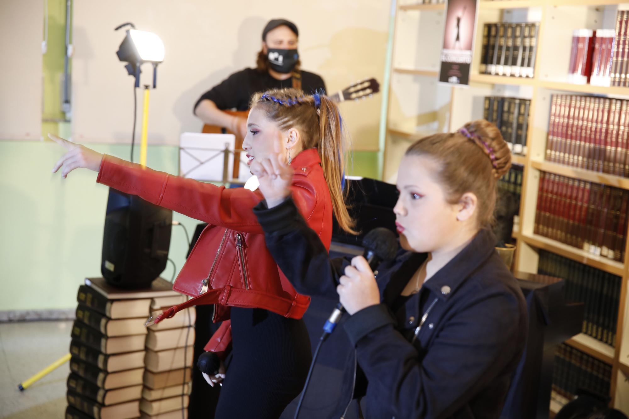 Los alumnos de IES Número 1, de concierto